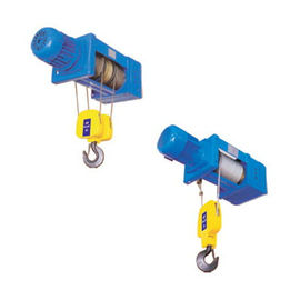 Double Girder Low-vibration Foot Mounted Wire Rope Hoists SH Series  underhang hoist