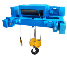 Custom Double Girder Electric Steel Wire Rope Hoists SH Type Motor Protection IP54