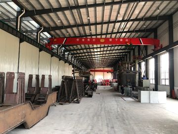 Light Duty Double Beam Bridge Crane For Repair Shops / Factory / Warehouse